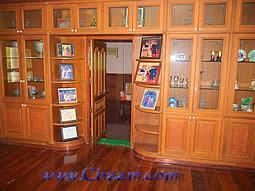 Passage to sleeping room in Villa