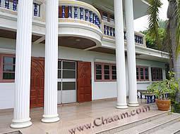 Roman Pillar on Luxury villa Cha-Am