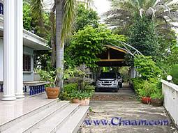 Carport and marble entrance Villa for sale