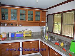 Kitchen with plenty of storage space