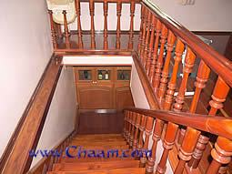 Staircase of Villa view downstairs