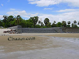 Land for sale in Cha Am with jungle and ocean view