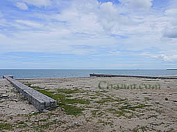 Cha-Am Thailand beach front plot of land for sale