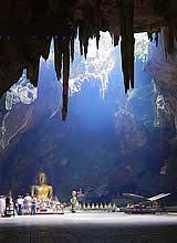 Dripstone cave in Phetchaburi