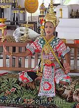 Buddhist Temple dancer