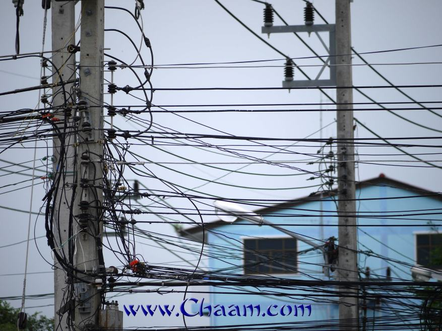 Renewing electricity grid in Cha-Am, Thailand