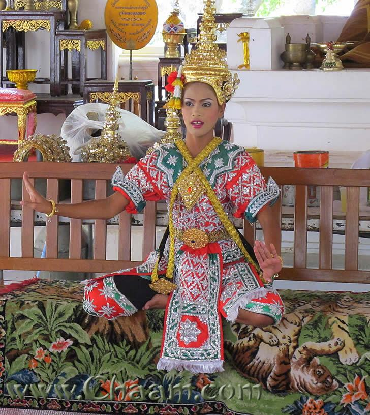 Ancient Thai costumes