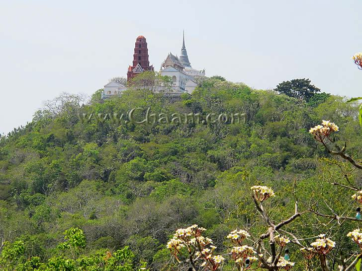 Temple on Mountain complex in Thailand