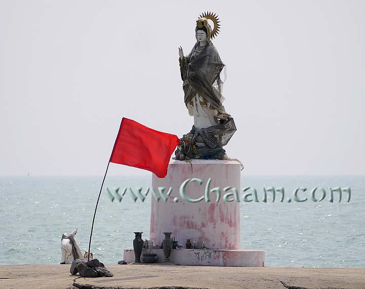 goddess Chao Mae Guan Im in Thailand