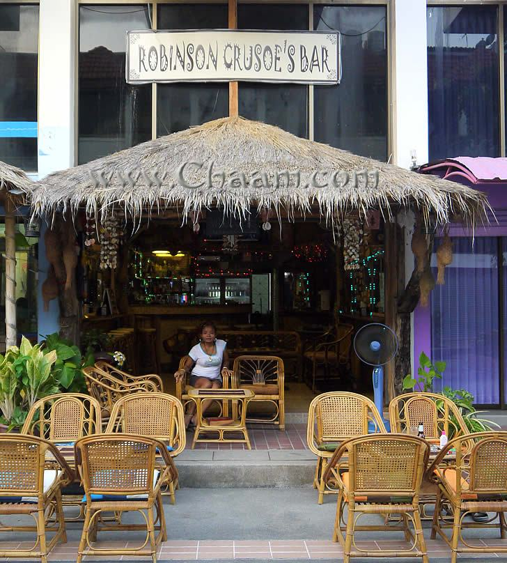 Robinson Crusoe´s Bar Cha-Am