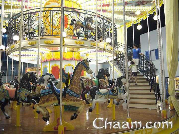 Carousel in Thailand Cha-Am