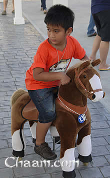 Ponycycles in Santorini Park Cha-Am Thailand