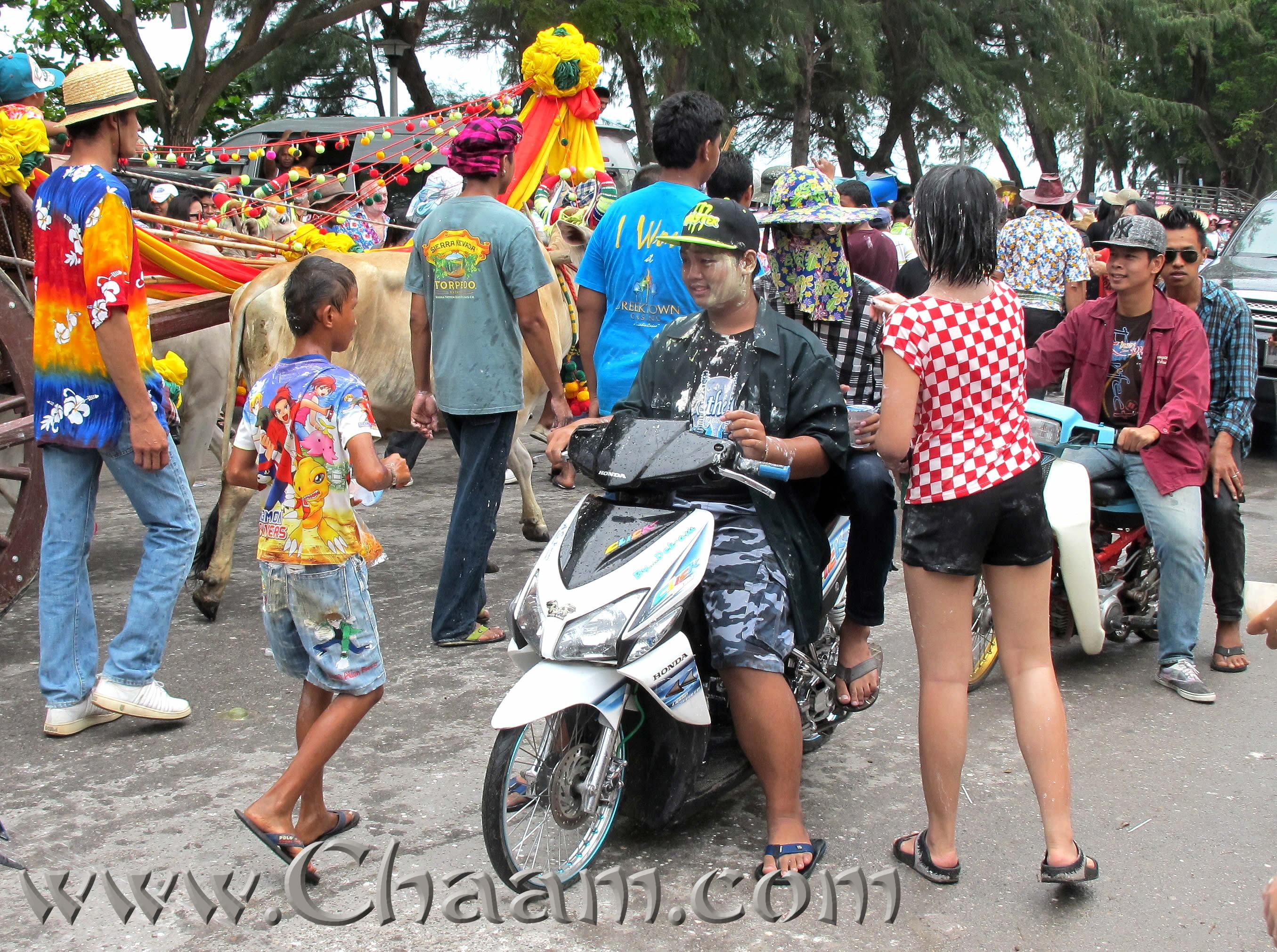 Songkran Party in Cha-Am