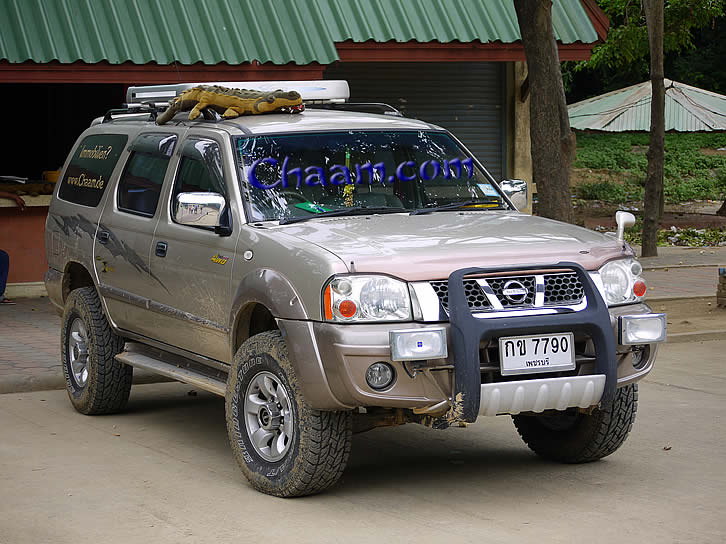 Cha-Am SUV for trips and excursions