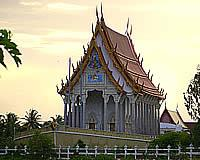Ship Temple Wat Tanot Luang