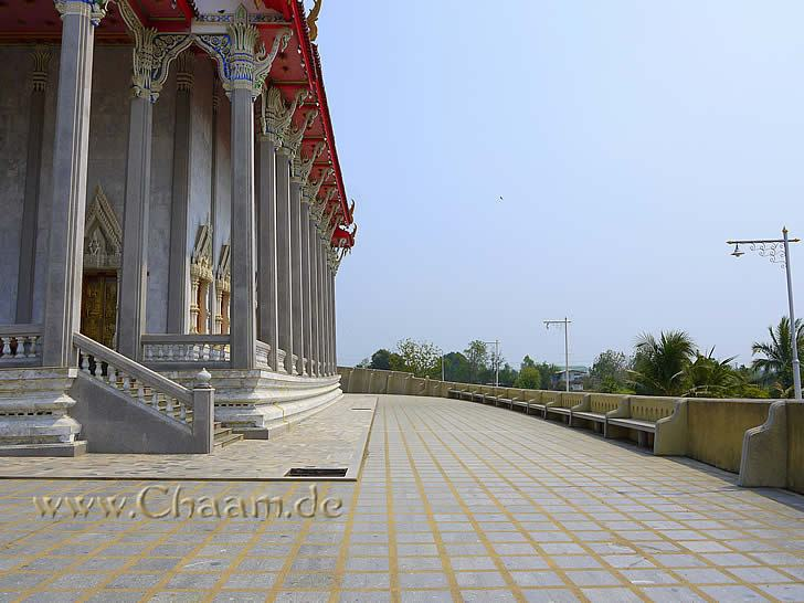 Side view of temple Wat Tanot Luang Thailand